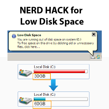 Use Simple Hack To Free Up Major Hard Drive Space Symbolic Links