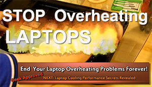 how to stop laptops from overheating